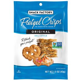 Snack Factory Pretzel Crisps Original 1.5 oz.