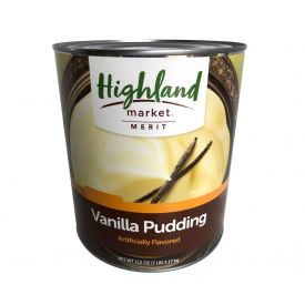Highland Market Merit Vanilla Pudding 112oz