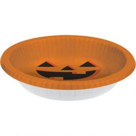 Halloween Pumpkin Paper Bowls 20oz