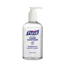 Purell Advanced Gel Hand Sanitizer Pump Bottle 8 oz.