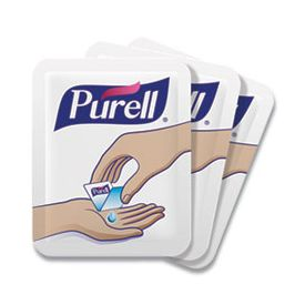 Purell Individual Single Use Advanced Hand Sanitizer Clear 1.2 ml