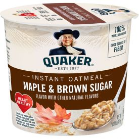 Quaker Instant Oatmeal Maple Brown Sugar 1.69oz.