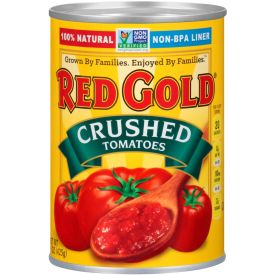 Red Gold Crushed Tomatoes 105oz.