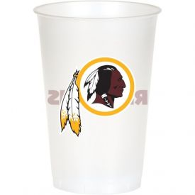 NFL Washington Redskins Lightweight Printed Plastic Cups 20 oz.
