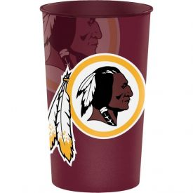 NFL Washington Redskins Heavy Duty Plastic Souvenir Cup 22 oz.
