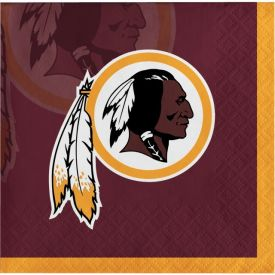 NFL Washington Redskins Beverage Napkins 2-ply