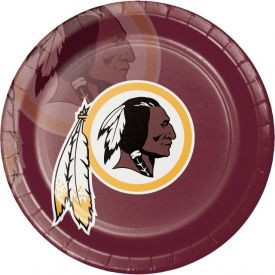 NFL Washington Redskins Paper Dinner Plates 9