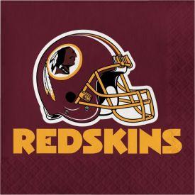 NFL Washington Redskins Lunch Napkins 2-ply