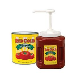 Red Gold 33% Fancy Ketchup Plastic Jug - 114oz
