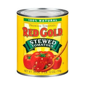 Red Gold Stewed Tomatoes #10