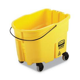 Rubbermaid® Commercial WaveBrake 2.0 Bucket, 8.75 gal, Plastic, Yellow