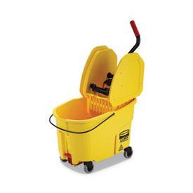 Rubbermaid® Commercial WaveBrakeBucket - Wringer Combos, Yellow