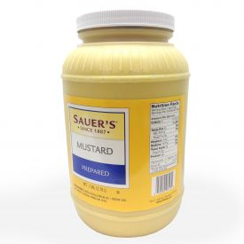Sauer's Pure Mustard Four 1 Gallon Containers