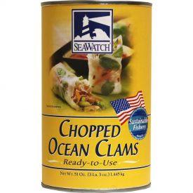 Sea Watch Chopped Ocean Clams 51oz.