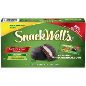 SnackWell's Devils Food Cookie Cakes - 1.1oz