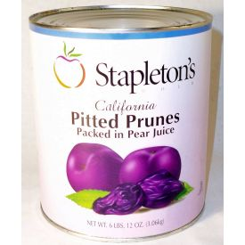 Stapleton Spence Pitted Prunes In Juice 98oz.