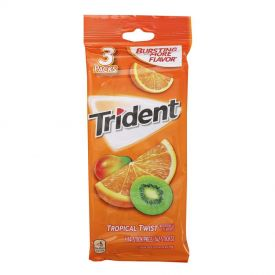 Trident Tropical Twist Gum 42 ct.