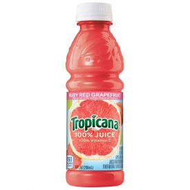 Tropicana Ruby Red Grapefruit Juice 10oz.