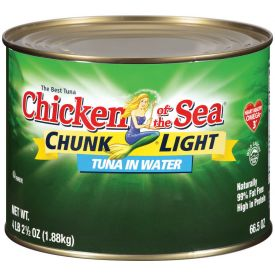 Chicken of the Sea Chunk Light Tuna 66.5oz