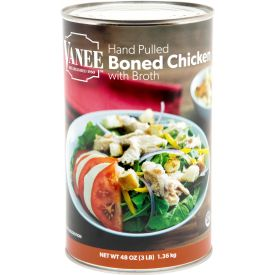 Vanee Cooked Boned Chicken with Broth 48oz
