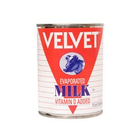 Velvet Evaporated Milk 12oz