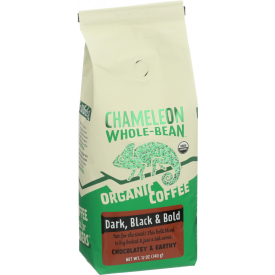 Chamelon Cold Brew Whole Bean Dark Black & Bold 12oz.