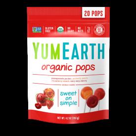 YumEarth Organic Fruit Pops 4.2oz.