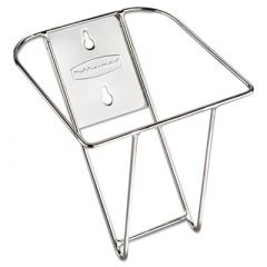 Rubbermaid® Commercial Scoop Holder Bracket, Stainless, 7 1/2 x 10 x 5 2/5