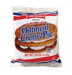 Little Debbie Double Decker Oatmeal Crème Pie